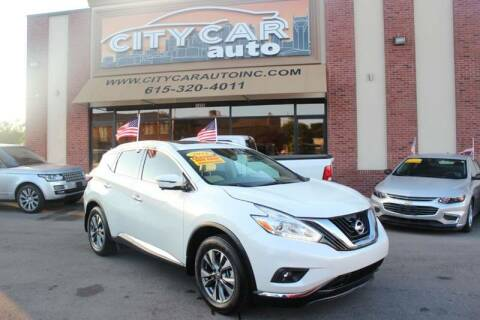 2016 Nissan Murano for sale at CITY CAR AUTO INC in Nashville TN