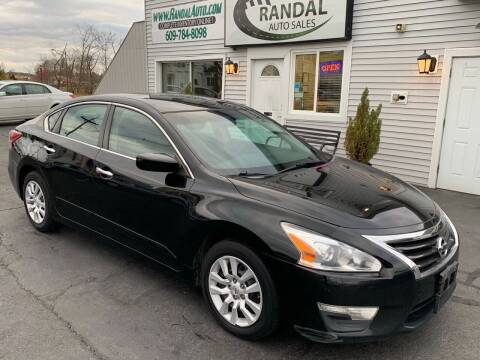 2013 Nissan Altima for sale at Randal Auto Sales in Eastampton NJ