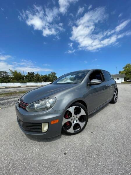 2012 Volkswagen GTI for sale at Easy Finance Motors in West Park FL