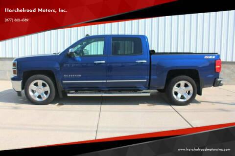 2014 Chevrolet Silverado 1500 for sale at Harchelroad Motors, Inc. in Wauneta NE