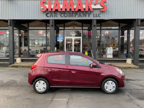 2018 Mitsubishi Mirage for sale at Siamak's Car Company llc in Salem OR