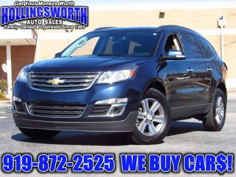 2016 Chevrolet Traverse for sale at Hollingsworth Auto Sales in Raleigh NC
