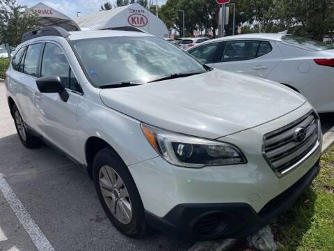 2017 Subaru Outback for sale at DORAL HYUNDAI in Doral FL