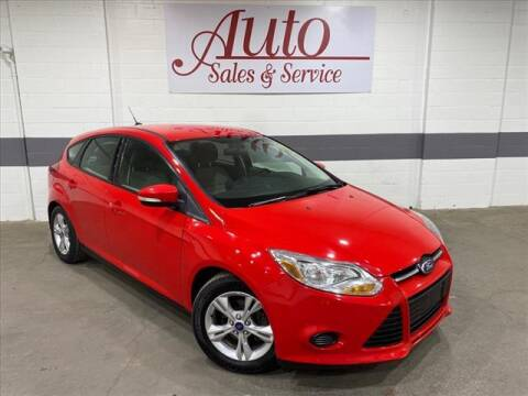 2014 Ford Focus for sale at Auto Sales & Service Wholesale in Indianapolis IN