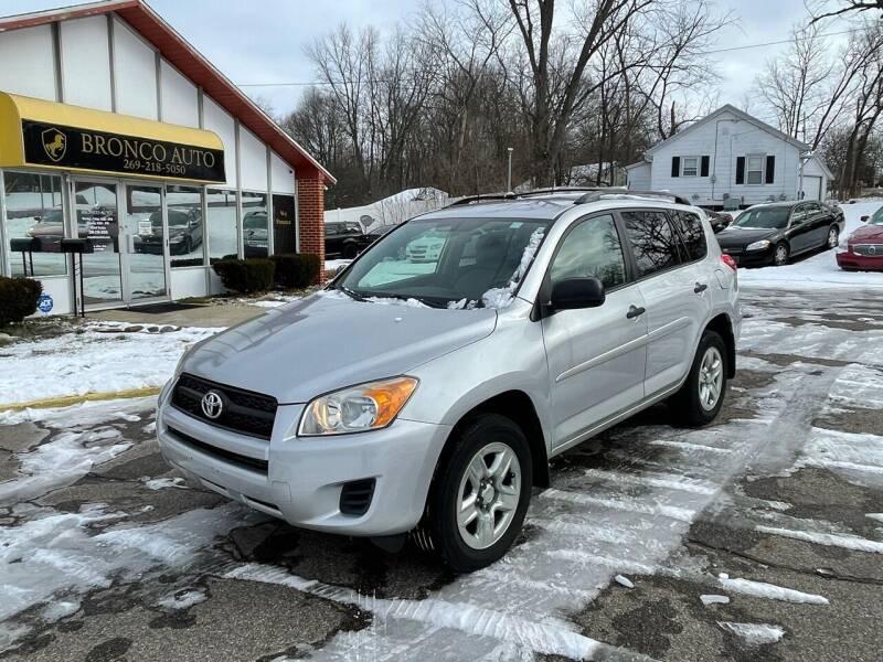 2009 Toyota RAV4 for sale at Bronco Auto in Kalamazoo MI
