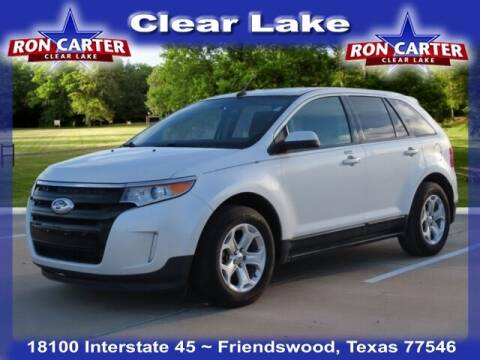 2012 Ford Edge for sale at Ron Carter  Clear Lake Used Cars in Houston TX