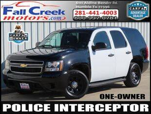 2013 Chevrolet Tahoe for sale at Fall Creek Motor Cars in Humble TX