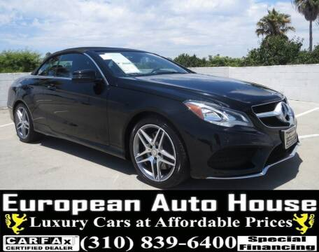 2015 Mercedes-Benz E-Class for sale at European Auto House in Los Angeles CA