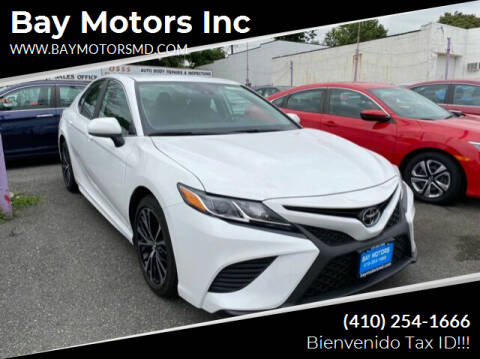 2020 Toyota Camry for sale at Bay Motors Inc in Baltimore MD