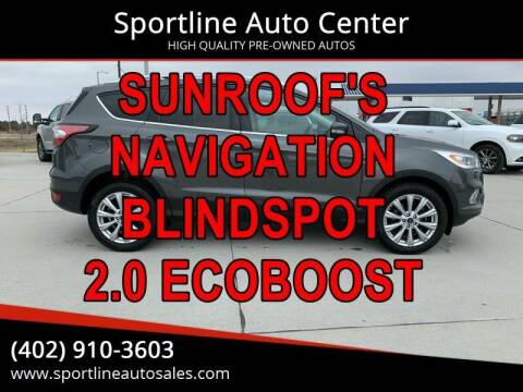 2017 Ford Escape for sale at Sportline Auto Center in Columbus NE