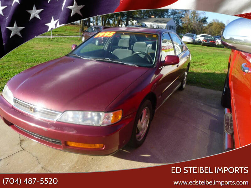 1997 Honda Accord for sale at Ed Steibel Imports in Shelby NC