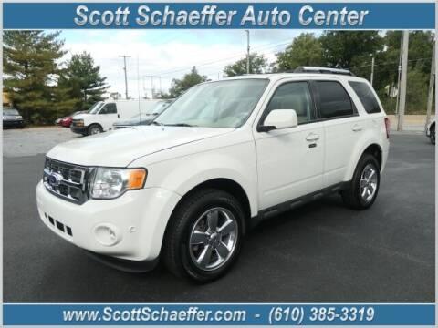 2012 Ford Escape for sale at Scott Schaeffer Auto Center in Birdsboro PA