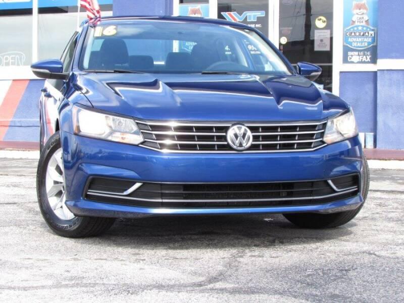 2016 Volkswagen Passat for sale at VIP AUTO ENTERPRISE INC. in Orlando FL