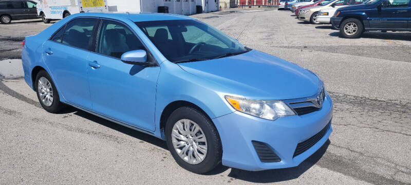 2012 Toyota Camry for sale at WEELZ in New Castle DE
