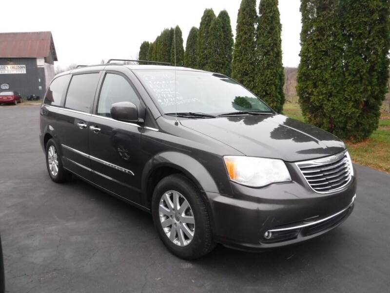 2016 Chrysler Town and Country for sale at Vicki Brouwer Autos Inc. in North Rose NY