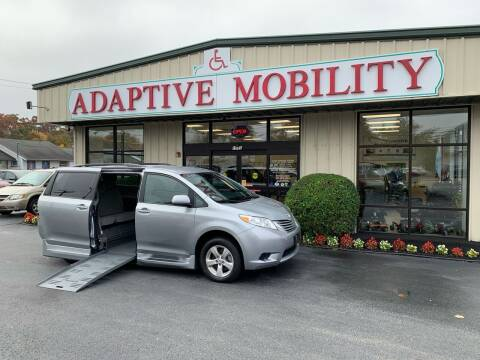 2015 Toyota Sienna for sale at Adaptive Mobility Wheelchair Vans in Seekonk MA