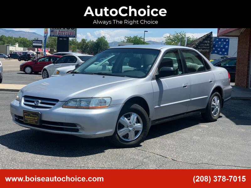 2001 Honda Accord for sale at AutoChoice in Boise ID