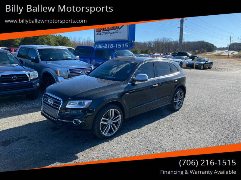 2015 Audi SQ5 for sale at Billy Ballew Motorsports in Dawsonville GA