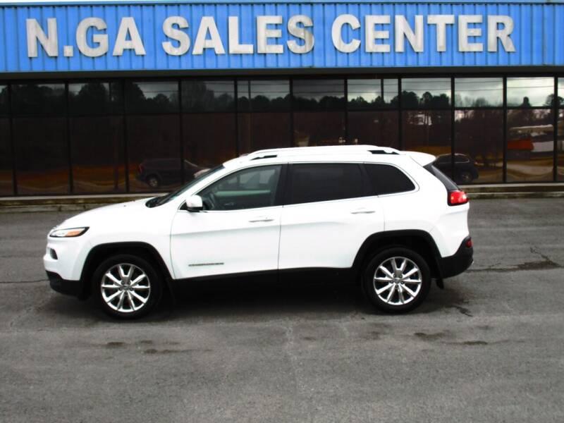 2014 Jeep Cherokee for sale at NORTH GEORGIA Sales Center in La Fayette GA