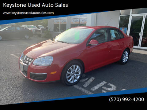 2010 Volkswagen Jetta for sale at Keystone Used Auto Sales in Brodheadsville PA