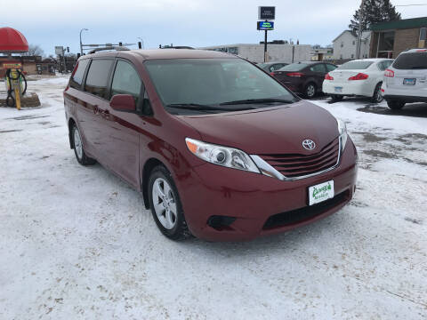 2016 Toyota Sienna for sale at Carney Auto Sales in Austin MN