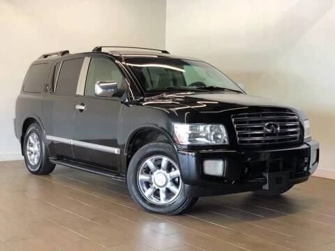 2004 Infiniti QX56 for sale at Texas Prime Motors in Houston TX