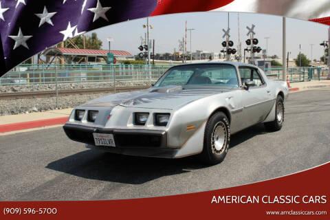 1979 Pontiac Firebird Trans Am for sale at American Classic Cars in La Verne CA