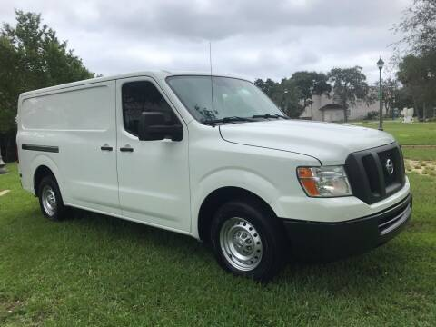2017 Nissan NV Cargo for sale at Kaler Auto Sales in Wilton Manors FL