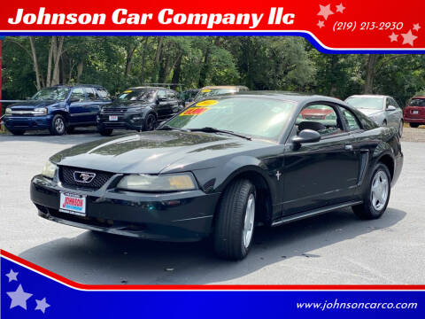 2002 Ford Mustang for sale at Johnson Car Company llc in Crown Point IN