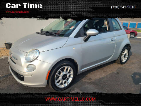 2013 FIAT 500 for sale at Car Time in Denver CO
