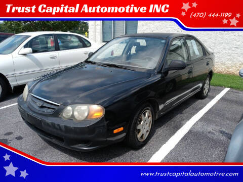 2002 Kia Spectra for sale at Trust Capital Automotive Inc. in Covington GA