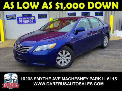 2007 Toyota Camry Hybrid for sale at Carz R Us in Machesney Park IL