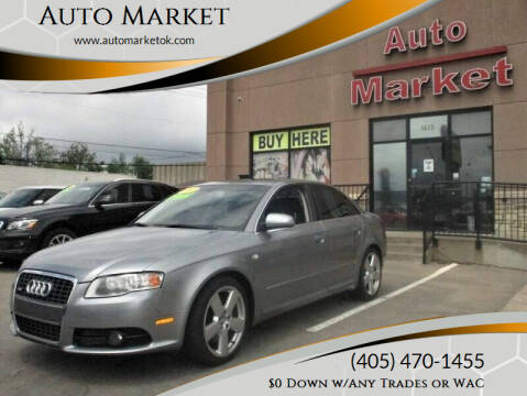 2007 Audi A4 for sale at Auto Market in Oklahoma City OK