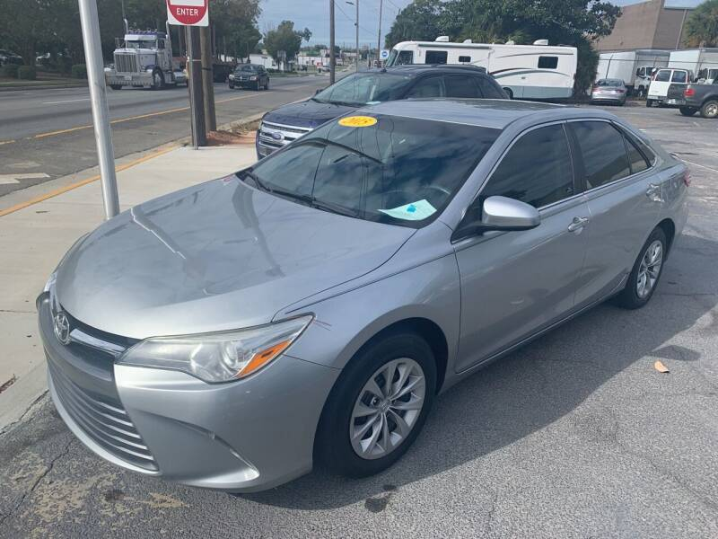 2015 Toyota Camry for sale at LEE AUTO SALES & SERVICE INC in Valdosta GA