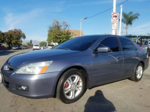 2007 Honda Accord for sale at Olympic Motors in Los Angeles CA