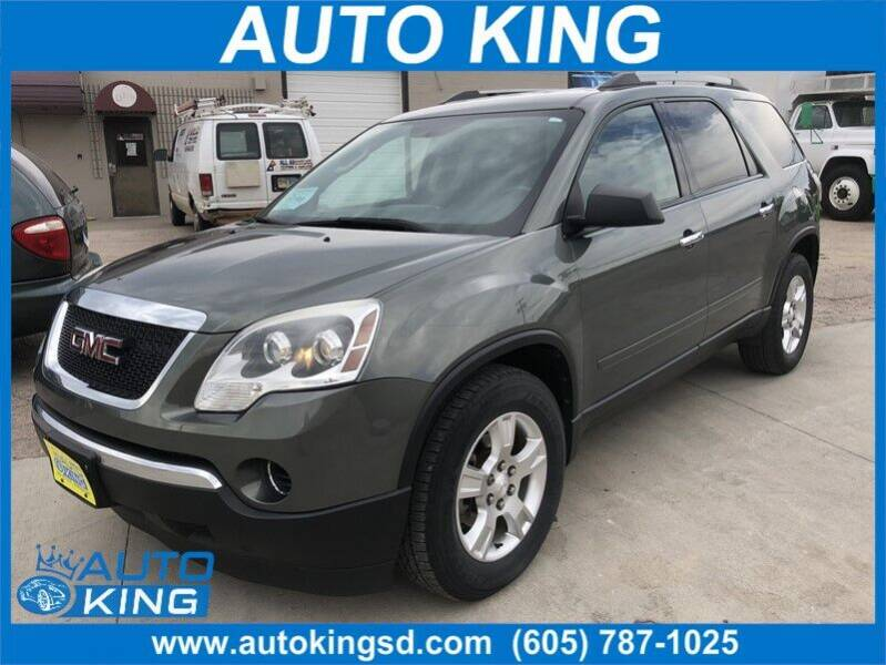 2010 GMC Acadia for sale at Auto King in Rapid City SD