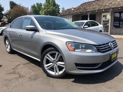 2014 Volkswagen Passat for sale at Devine Auto Sales in Modesto CA