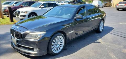 2011 BMW 7 Series for sale at GA Auto IMPORTS  LLC in Buford GA