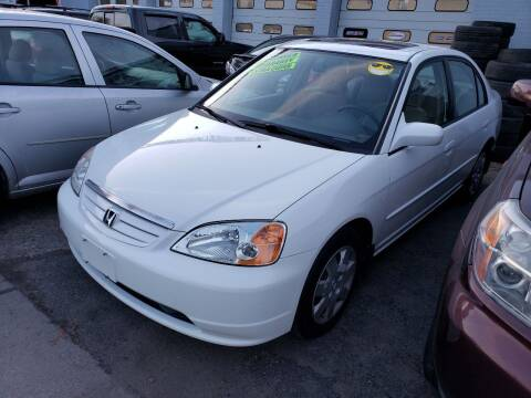 2002 Honda Civic for sale at Devaney Auto Sales & Service in East Providence RI