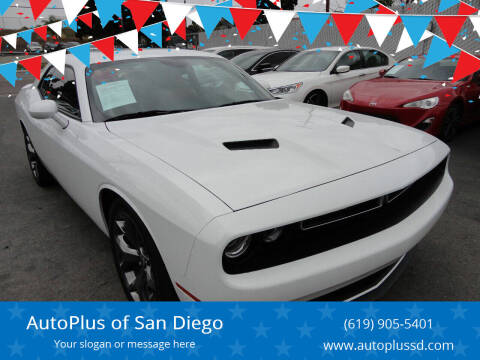 2017 Dodge Challenger for sale at AutoPlus of San Diego in Spring Valley CA