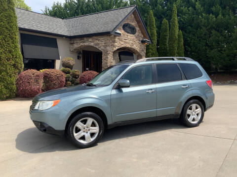 2009 Subaru Forester for sale at Hoyle Auto Sales in Taylorsville NC