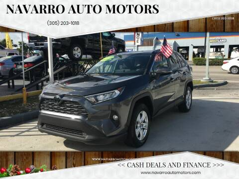 2019 Toyota RAV4 for sale at Navarro Auto Motors in Hialeah FL