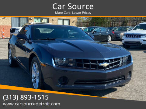 2013 Chevrolet Camaro for sale at Car Source in Detroit MI