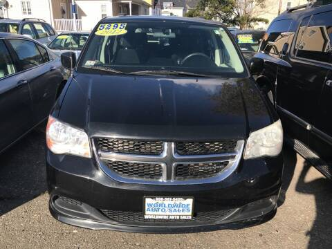 2012 Dodge Grand Caravan for sale at Worldwide Auto Sales in Fall River MA
