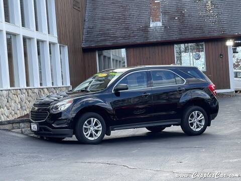 2017 Chevrolet Equinox for sale at Cupples Car Company in Belmont NH