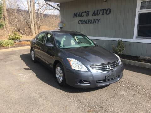 2010 Nissan Altima for sale at MAC'S AUTO COMPANY in Nanticoke PA