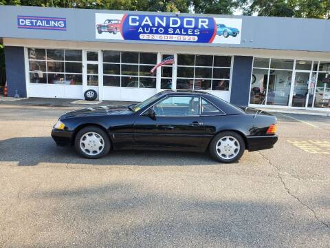 1992 Mercedes-Benz 500-Class for sale at CANDOR INC in Toms River NJ