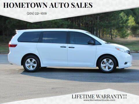 2017 Toyota Sienna for sale at Hometown Auto Sales - SUVS in Jasper AL