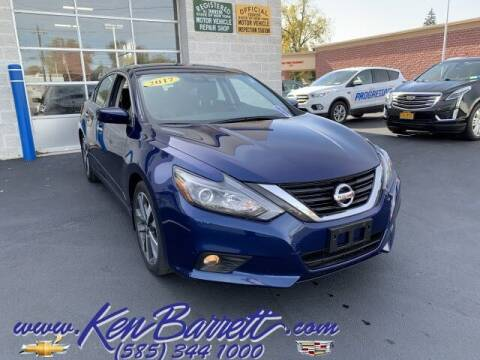 2017 Nissan Altima for sale at KEN BARRETT CHEVROLET CADILLAC in Batavia NY