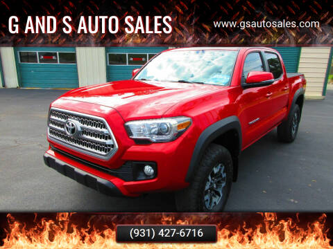 2016 Toyota Tacoma for sale at G and S Auto Sales in Ardmore TN